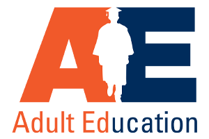 Image of the HCDE Adult Education logo.