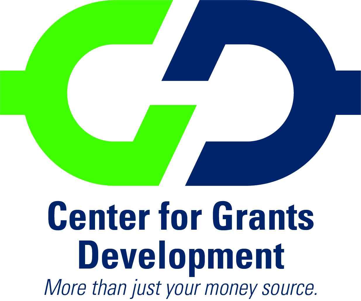 Image of the Center for Grants Development logo.