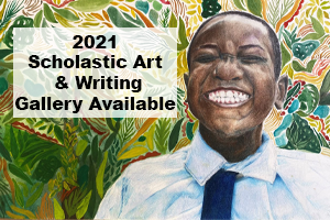 "Image of Scholastic Artwork ""Pure Joy"" by Kathleen O'donnell, 12th gr., Memorial High School."